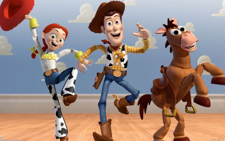 Woody 3D Character