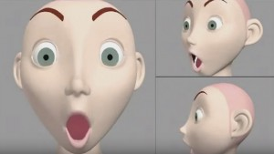 3D Character Face