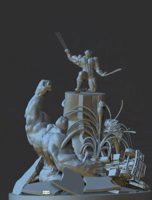 3D Zbrush character models