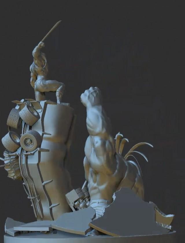 Zbrush 3D Character models