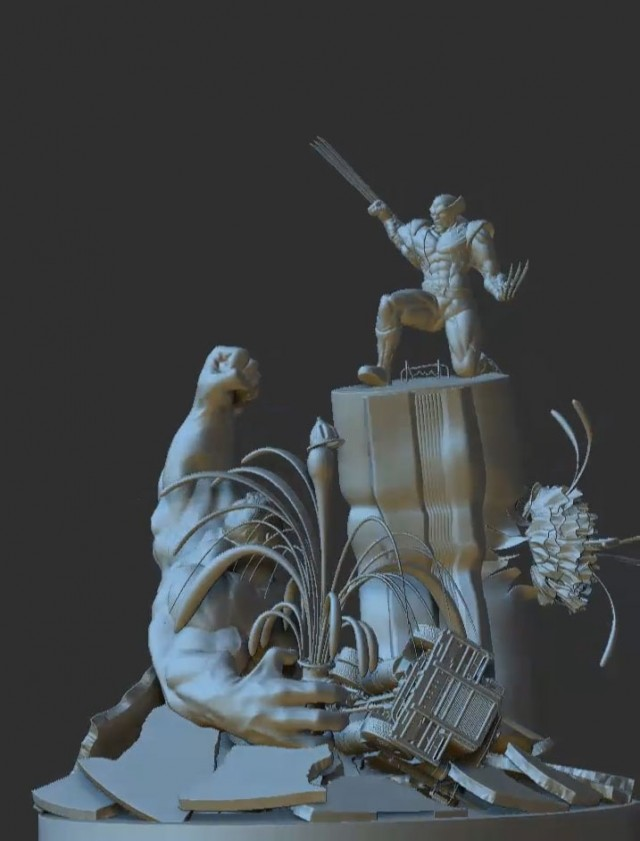 3D Characters Zbrush