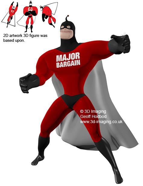 3D Superhero CGI