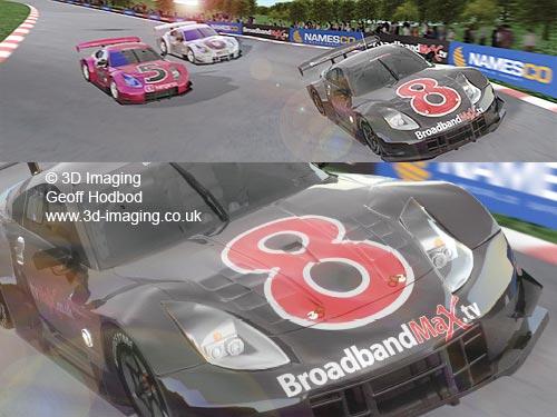 Fast 3D Cars