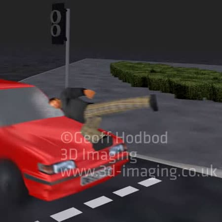 3D Accident Traffic Reconstructions