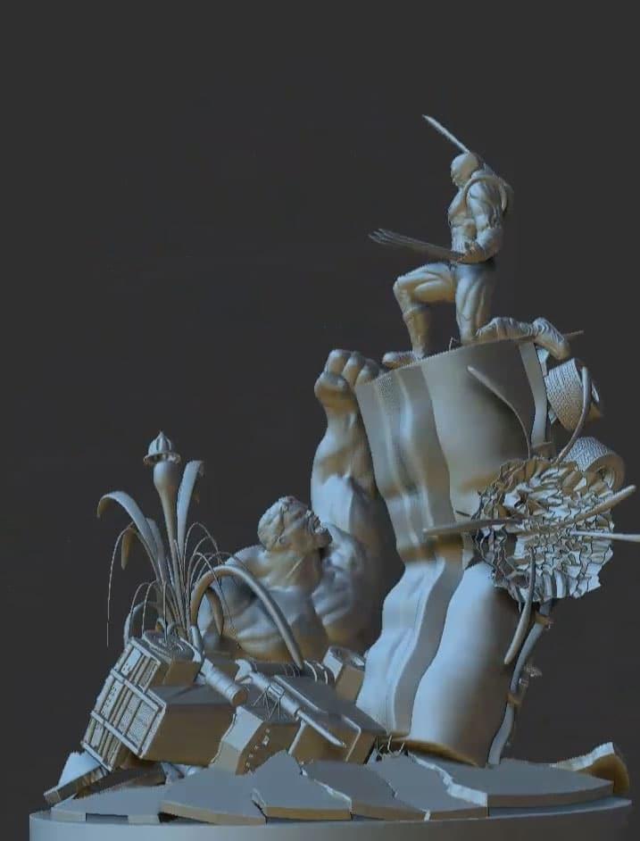 Zbrush Character Models Portfolio