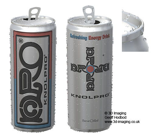 3D Drinks Can