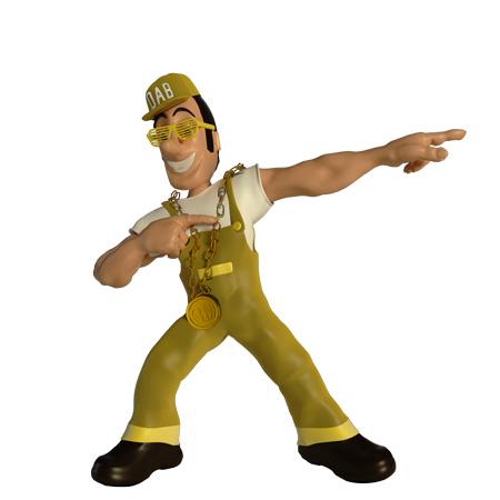 3D Mascot Character